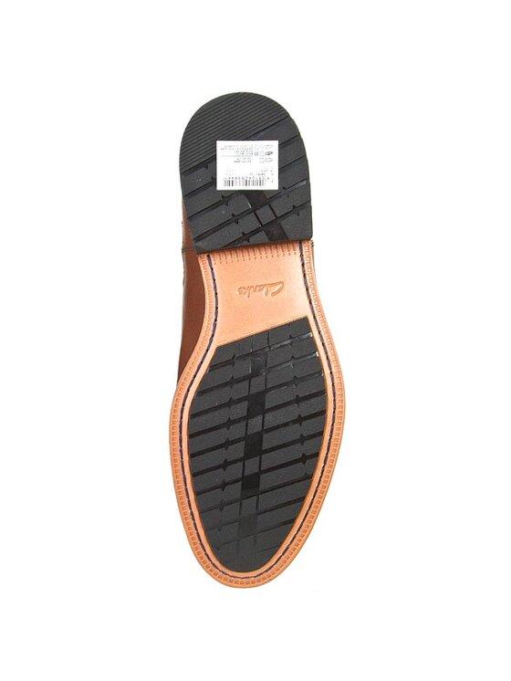 Clarks Clarks Členková obuv s elastickým prvkom Gatley Top 261030217 Hnedá