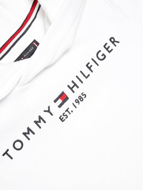 Tommy Hilfiger Tommy Hilfiger Bluza Essential KB0KB05673 Biały Regular Fit