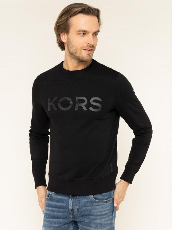 MICHAEL Michael Kors MICHAEL Michael Kors Bluză CR95HXF7TE Negru Regular Fit