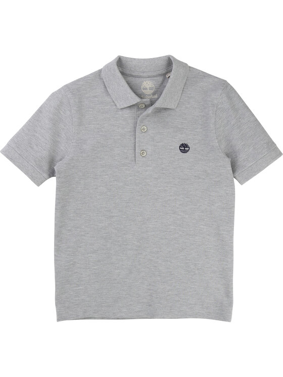 Timberland Timberland Polo T25P13 D Szary Regular Fit