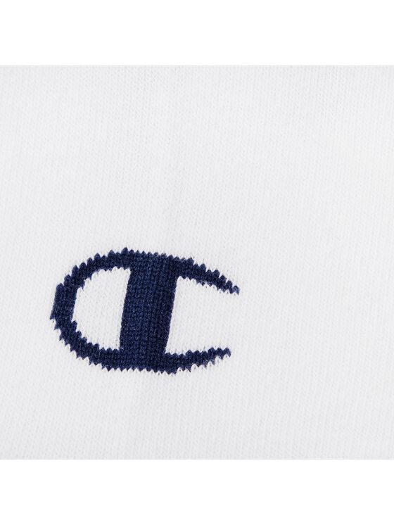 Champion Champion Súprava 3 párov členkových dámskych ponožiek 3PP Ghost Socks 804560-WW001 Biela