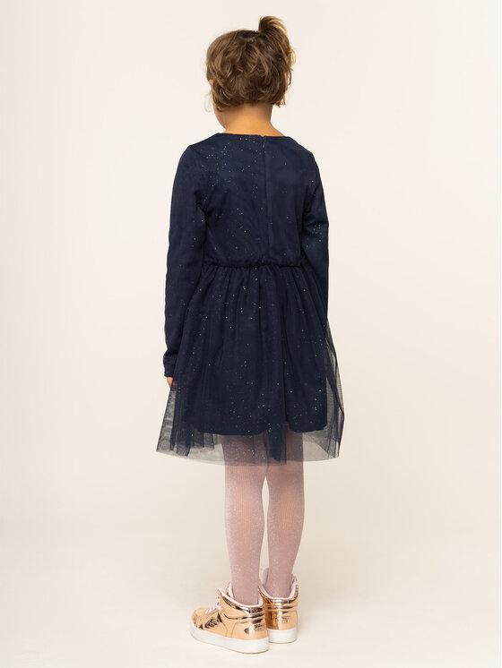 Billieblush Billieblush Sukienka elegancka U12523 Granatowy Regular Fit