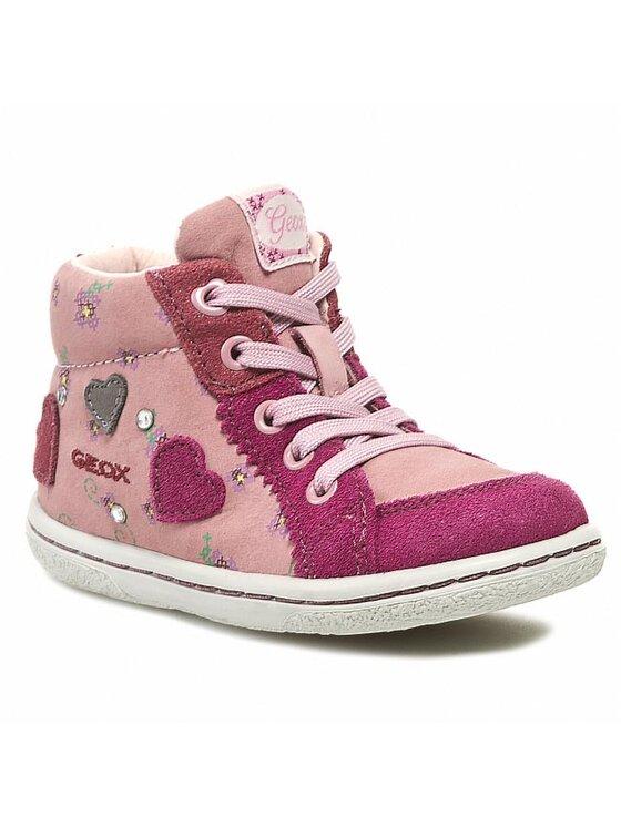 Geox Geox Auliniai batai B3434E 03222 C8073 Rožinė
