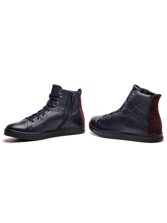 Gino Rossi Gino Rossi Auliniai batai Dex MTV568-K55-17R5-0576-T Tamsiai mėlyna