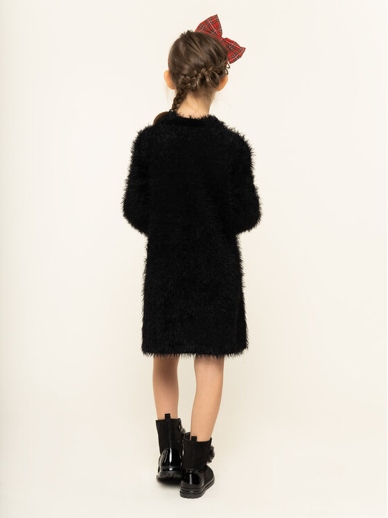 TwinSet TwinSet Φόρεμα καθημερινό 192GJ3241 Μαύρο Regular Fit