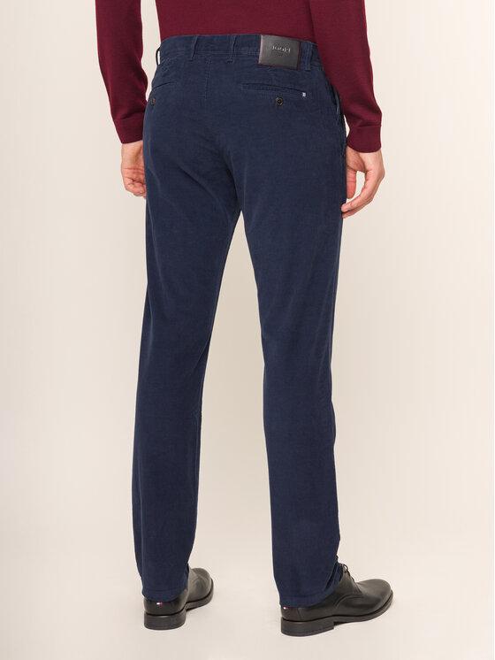JOOP! Jeans Joop! Jeans Medžiaginės kelnės Matthew 30017310 Tamsiai mėlyna Straight Leg