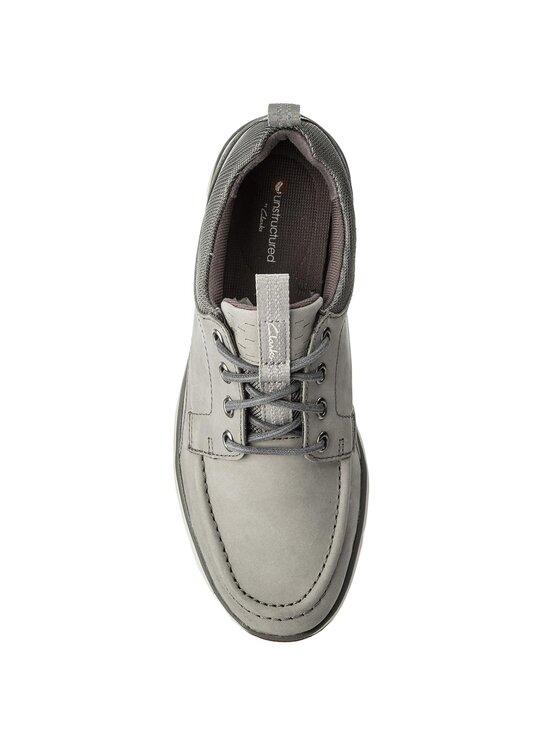 Clarks Clarks Обувки Orson Bay 261318597 Сив