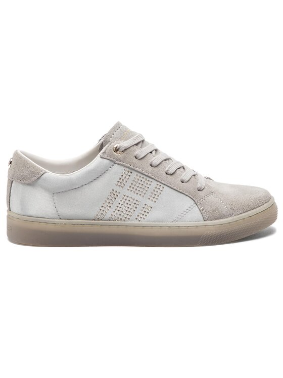 Tommy Hilfiger Tommy Hilfiger Sneakers Sparkle Satin Essential Sneaker FW0FW03694 Grau