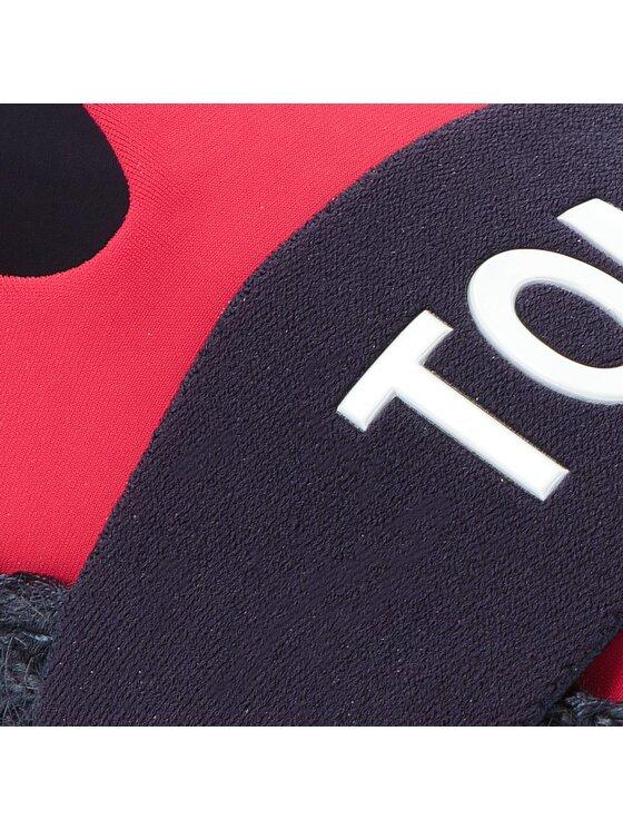 Tommy Jeans Tommy Jeans Espadrile Hybrid Slip On EN0EN00096 Roșu