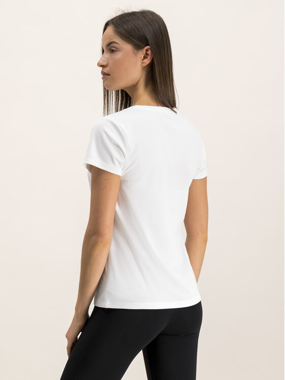 Tommy Sport Tommy Sport T-shirt Logo Crew S10S100055 Bianco Regular Fit