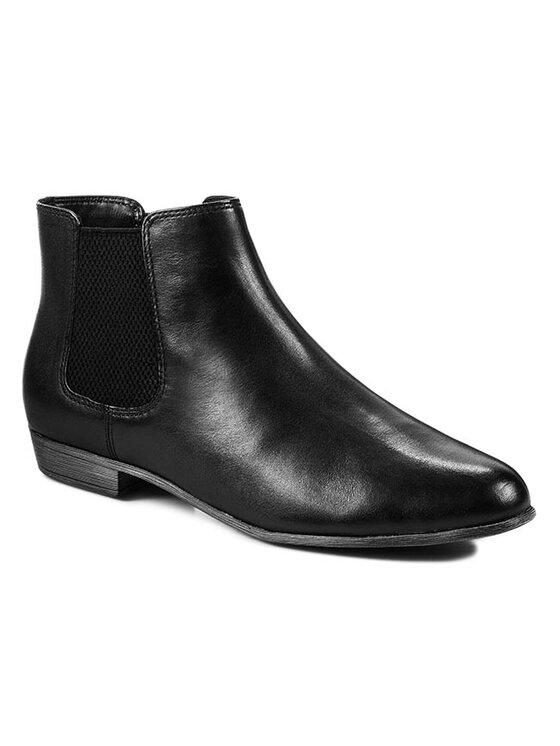 Clarks Clarks Členková obuv s elastickým prvkom Lolly Dawson 261022924 Čierna