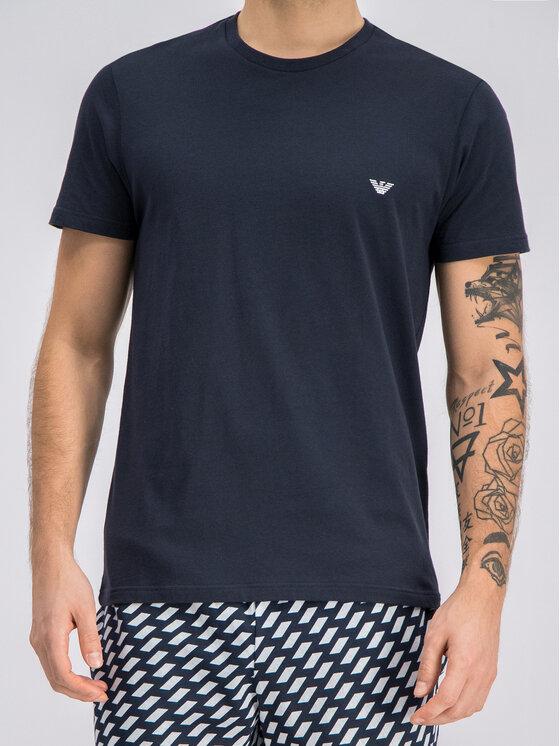 Emporio Armani Underwear Emporio Armani Underwear Piżama 111360 9P567 57935 Granatowy Regular Fit