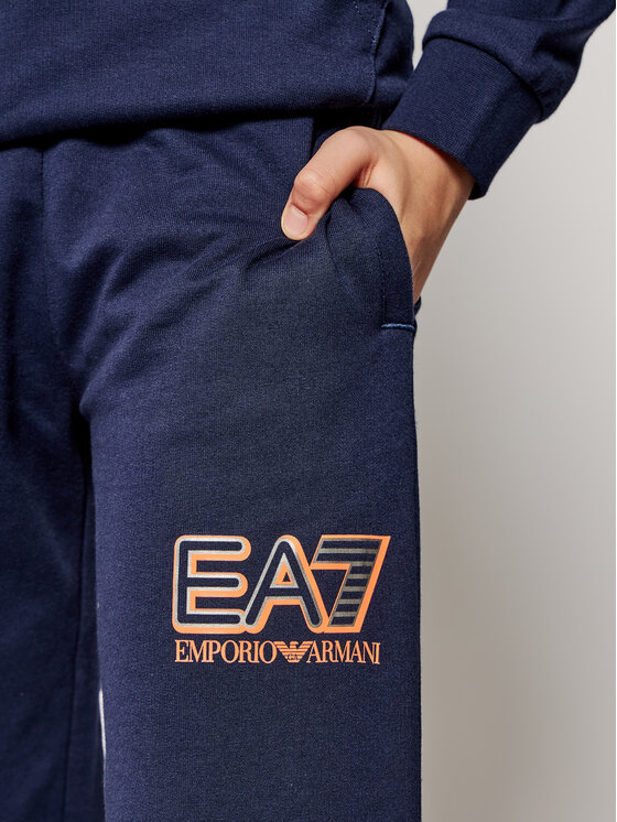 EA7 Emporio Armani EA7 Emporio Armani Spodnie dresowe 6HBP52 BJ05Z 1554 Granatowy Regular Fit