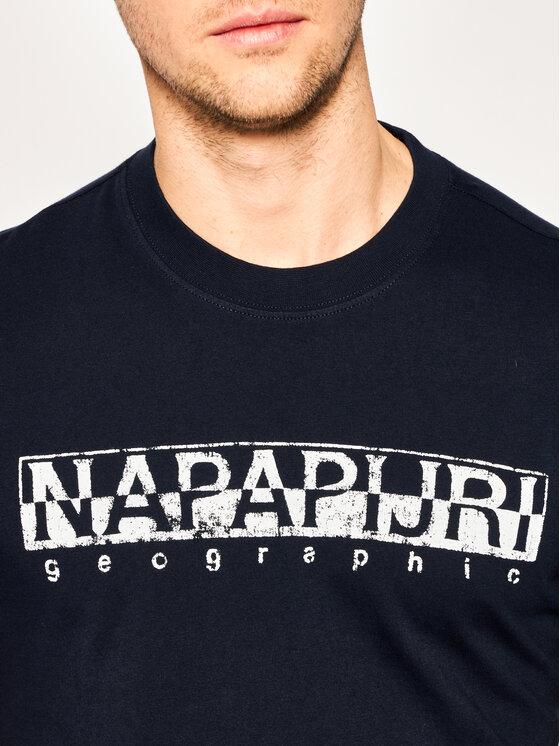 Napapijri Napapijri Тишърт Solanos NP0A4E39 Тъмносин Regular Fit