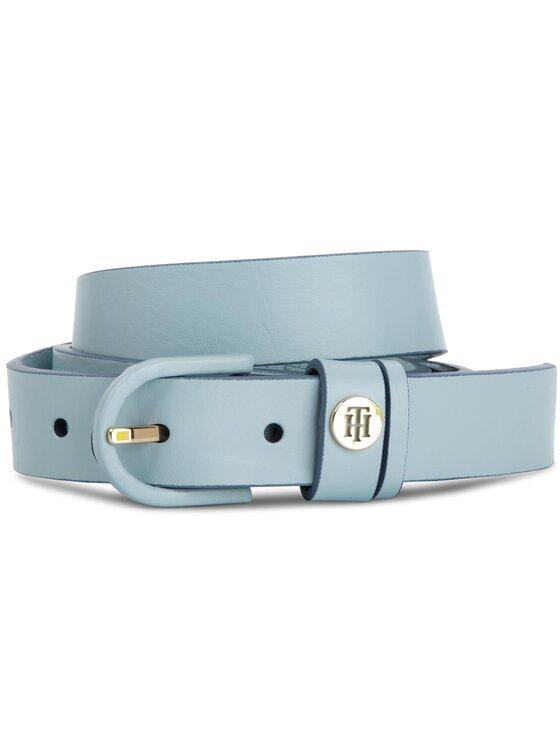 Tommy Hilfiger Tommy Hilfiger Dámský pásek Classic Belt 2.5 AW0AW06544 Modrá