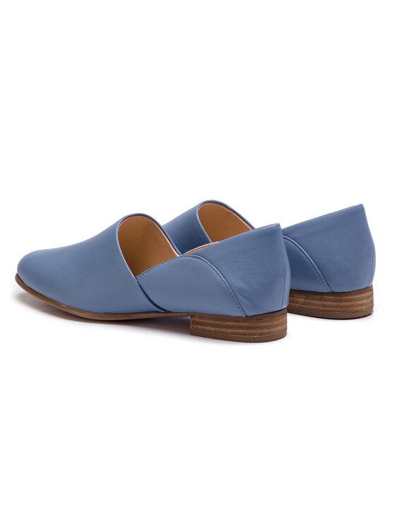 Clarks Clarks Halbschuhe Pure Tone 261396354 Blau