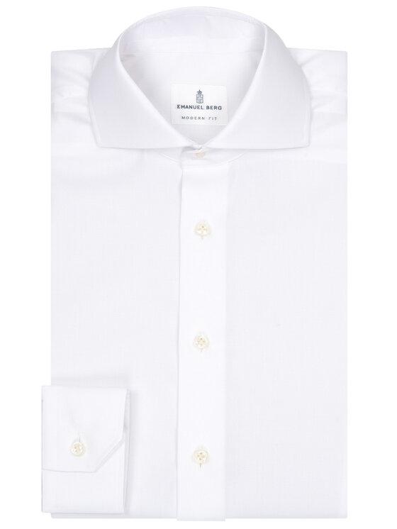 Emanuel Berg Emanuel Berg Camicia HV37 Bianco Modern Fit