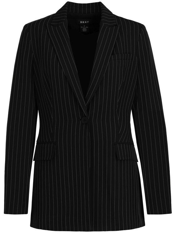 DKNY DKNY Блейзър P9ECRB4M Черен Regular Fit