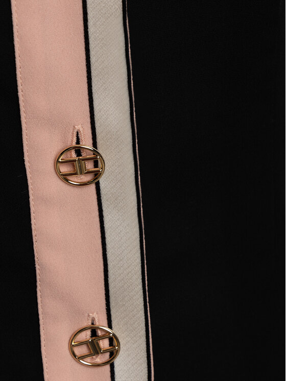 Elisabetta Franchi Elisabetta Franchi Košile CA-240-97E2-V289 Černá Regular Fit