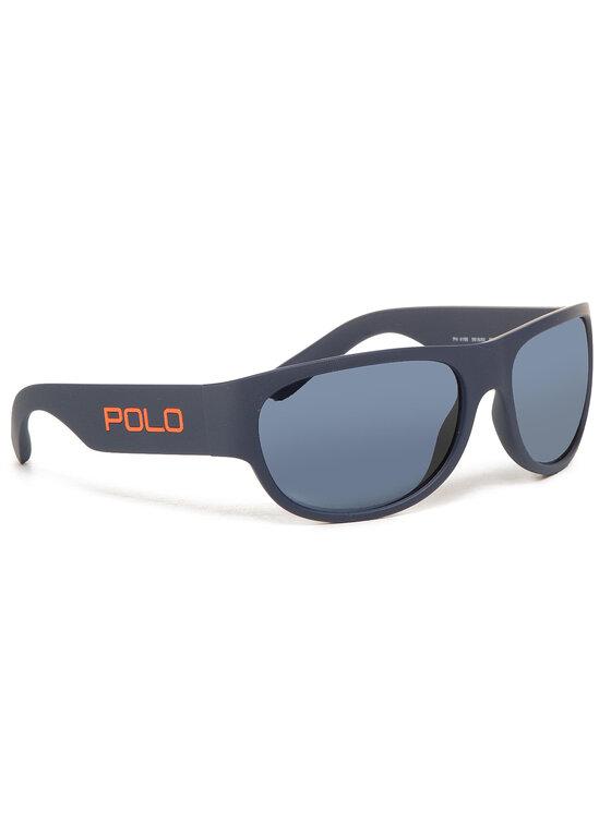 Polo Ralph Lauren Akiniai nuo saulės 0PH4166 561880 Tamsiai mėlyna