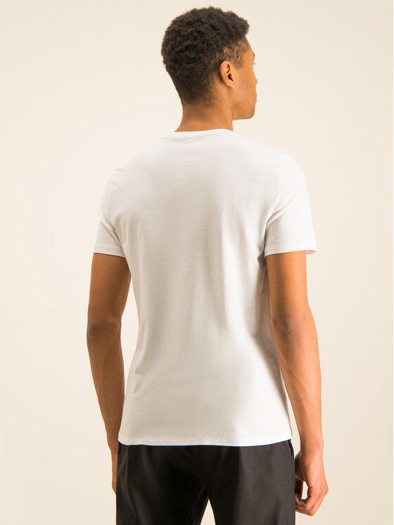 Armani Exchange Armani Exchange T-Shirt 3HZTBC ZJ2HZ 1100 Biały Regular Fit