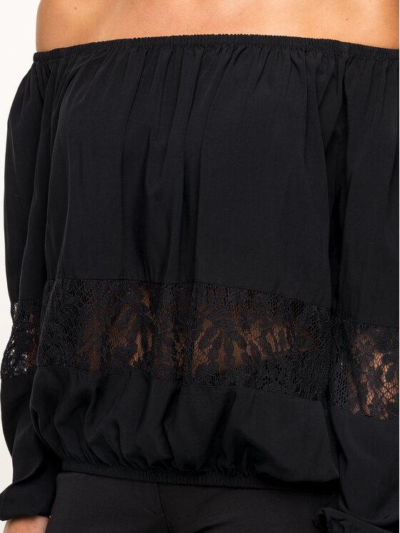 Guess Guess Bluzka W92H58 W9X10 Czarny Regular Fit