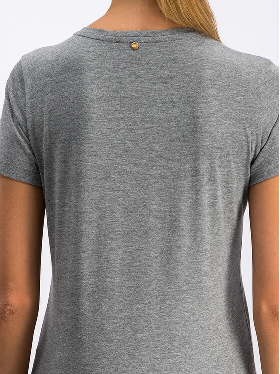 Silvian Heach Silvian Heach T-Shirt CVA19387TS Szary Regular Fit