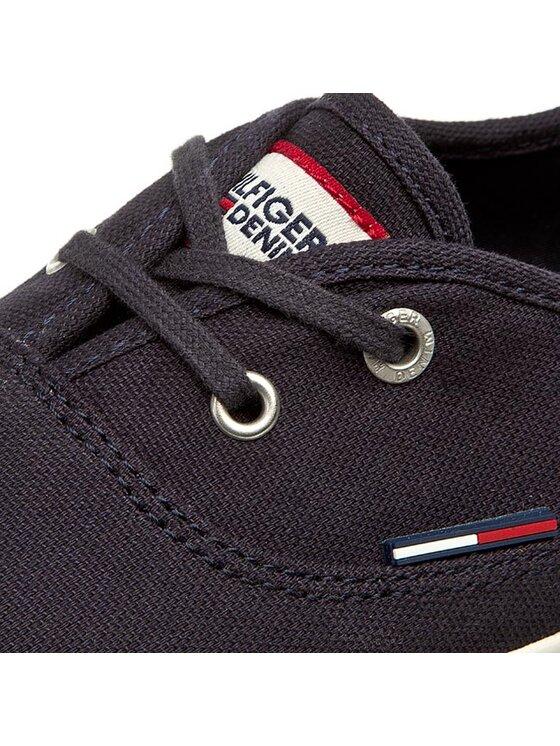TOMMY HILFIGER TOMMY HILFIGER Πάνινα παπούτσια Johanna 1D EN56821000 Σκούρο μπλε