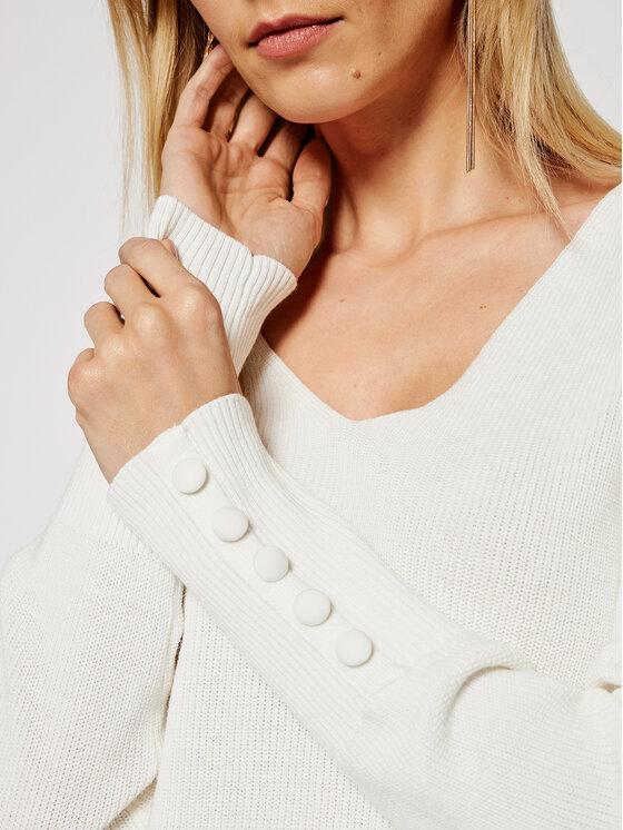 Morgan Morgan Sweter 211-MIEN Biały Regular Fit