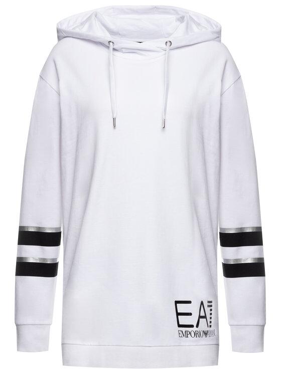 EA7 Emporio Armani EA7 Emporio Armani Tuta 6GTV78 TJ31Z 22BA Bianco Regular Fit