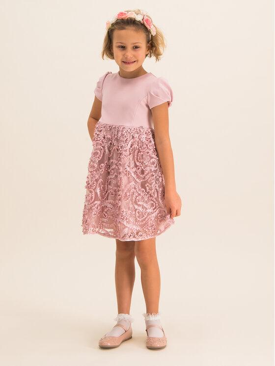 Mayoral Mayoral Elegantiška suknelė 4920 Rožinė Regular Fit