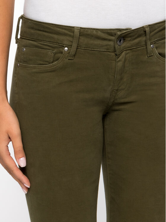 Pepe Jeans Pepe Jeans Blugi Soho PL210804 Verde Skinny Fit