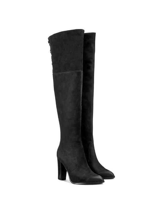 Carinii Carinii Μπότες πάνω από το γόνατο B3020 Μαύρο