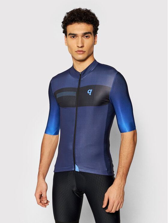 Quest Dviratininko marškinėliai Essential Tamsiai mėlyna Slim Fit