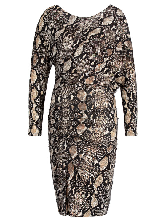 Marciano Guess Marciano Guess Sukienka koktajlowa 94G7526724Z Brązowy Regular Fit