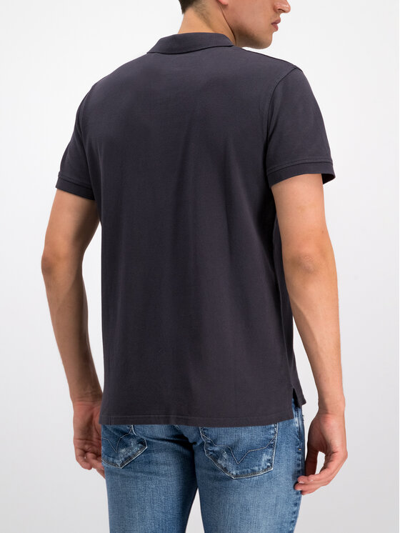 Pepe Jeans Pepe Jeans Polo PM541225 Σκούρο μπλε Slim Fit