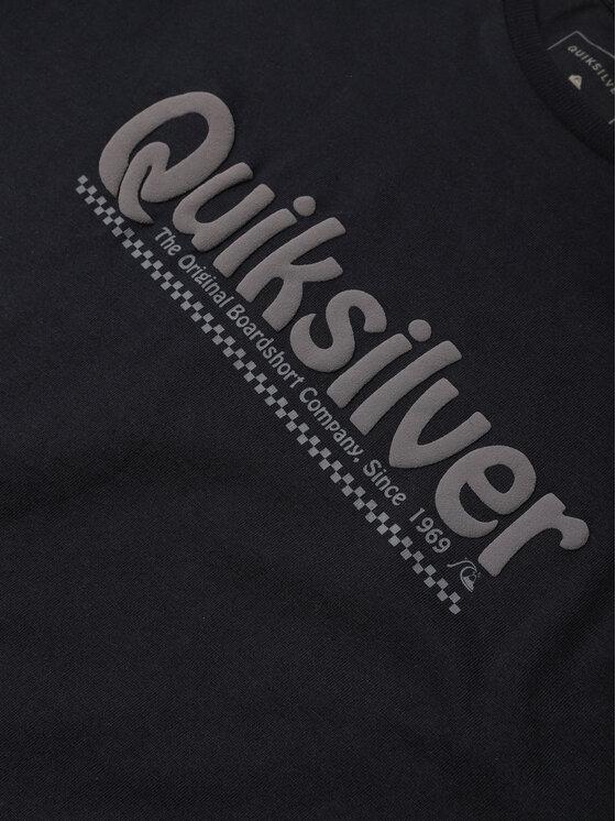 Quiksilver Quiksilver T-Shirt New Slang EQBZT04143 Granatowy Regular Fit