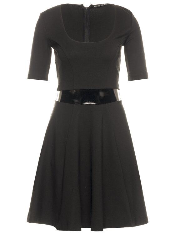 Guess Guess Koktejlové šaty Ermina W01K56 K8RN0 Čierna Regular Fit