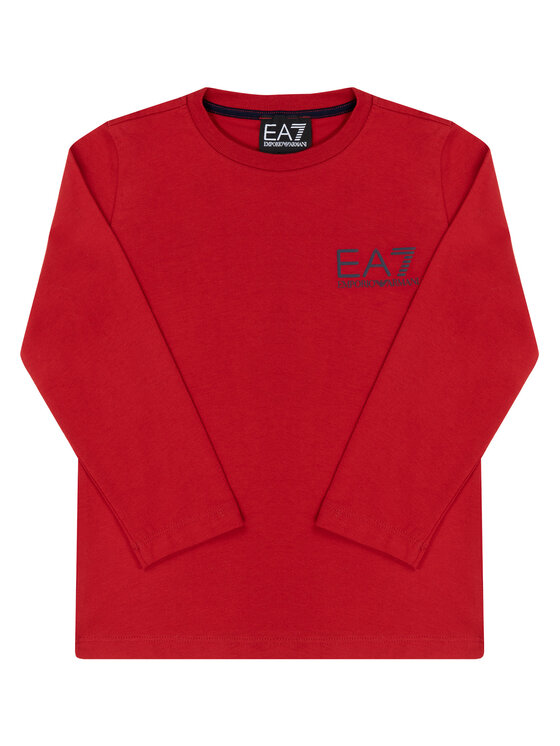 EA7 Emporio Armani EA7 Emporio Armani Bluzka 6GBT52 BJ02Z 1473 Czerwony Regular Fit