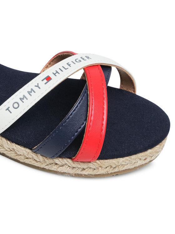 Tommy Hilfiger Tommy Hilfiger Espadryle Rope Wedge Sandal T3A2-31055-1167X051 M Granatowy