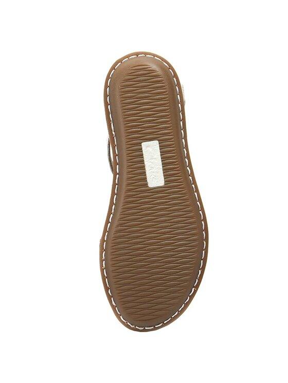 Clarks Clarks Sandále Tustin Sahara 261175254 Biela