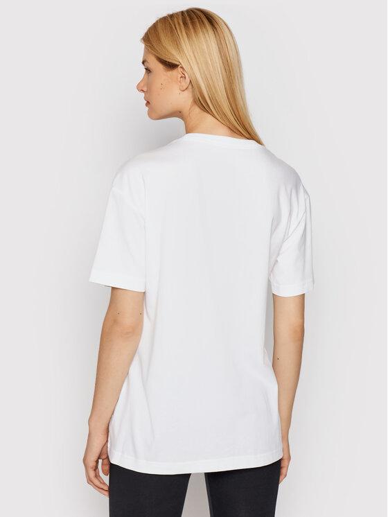 Nike Nike Тишърт Sportswear DB9817 Бял Loose Fit