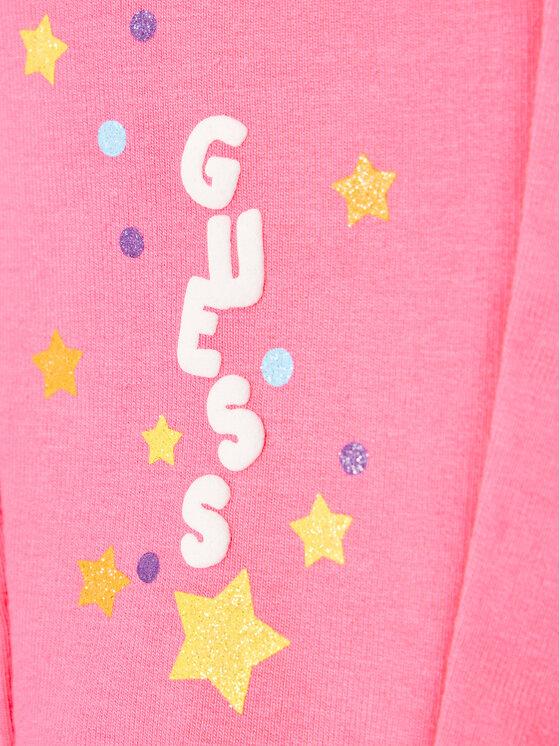 Guess Guess Dres A1RG04 KA6V0 Różowy Regular Fit