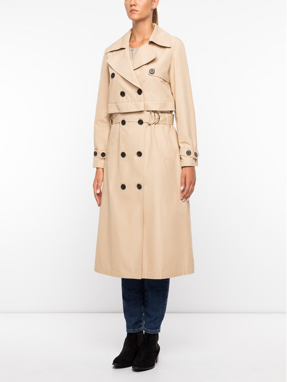 MAX&Co. MAX&Co. Trench-coat 70245019 Beige Regular Fit