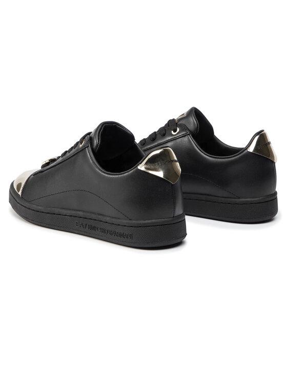 EA7 Emporio Armani EA7 Emporio Armani Laisvalaikio batai X8X042 XK074 N692 Juoda