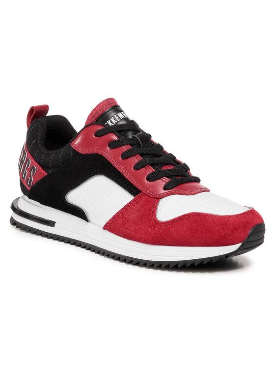 Bikkembergs Laisvalaikio batai Low Top Lace Up B4BKM0115 Raudona