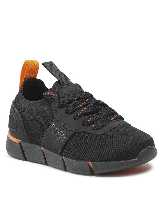 Levně Boss Sneakersy J29265 S Černá