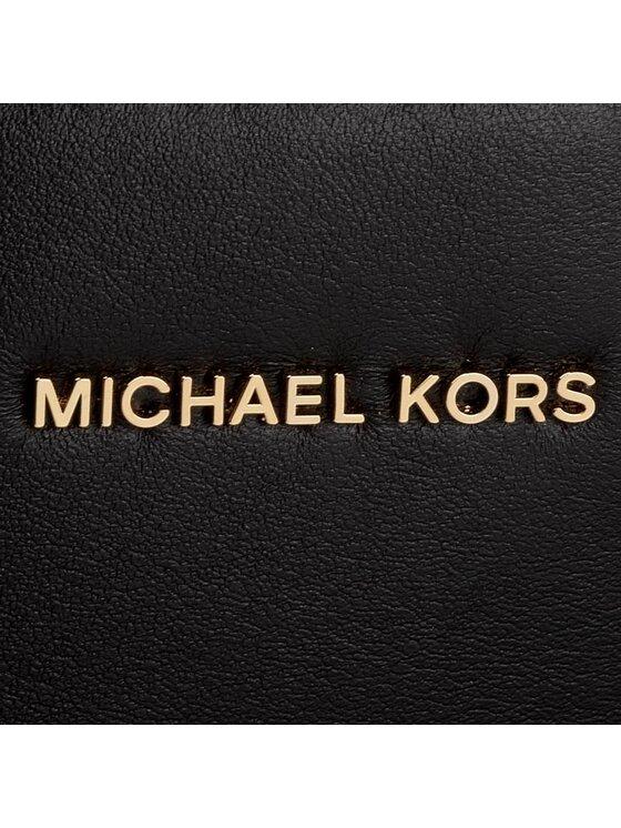 Michael Kors Michael Kors Handtasche Mercer Stud & Grommet 30S7GZ4T3L Schwarz