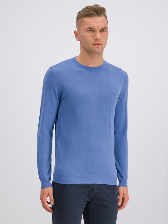 Roy Robson Megztinis 5051-91 Mėlyna Regular Fit
