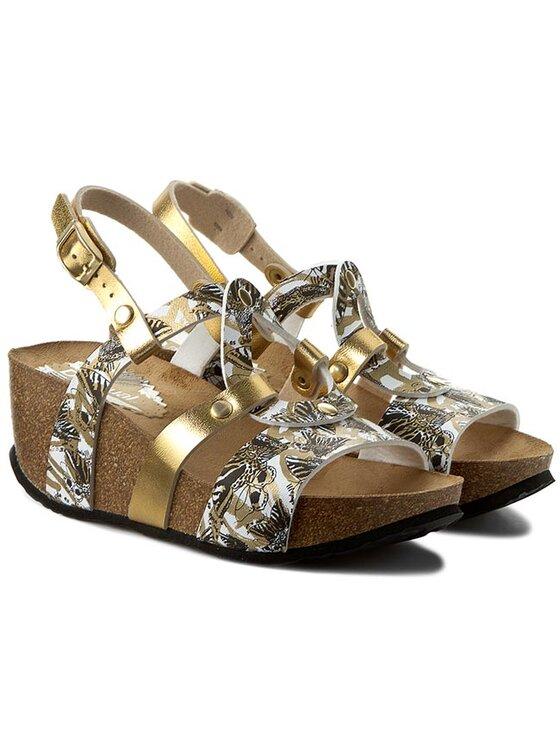 Desigual Desigual Sandali Shoes Bio 9 Anissa Butterfly 61HS5F6/2000 Oro